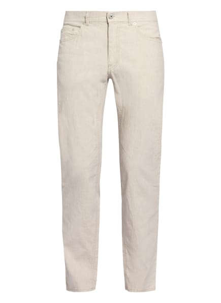 BRAX Hose COOPER FA mit Leinen Regular Fit , Farbe: CREME (Bild 1)
