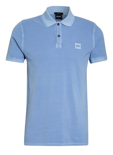 BOSS Piqué-Poloshirt PRIME Slim Fit, Farbe: HELLBLAU (Bild 1)