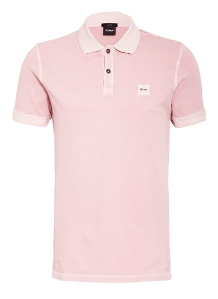BOSS Piqué-Poloshirt PRIME Slim Fit, Farbe: ROSÉ (Bild 1)