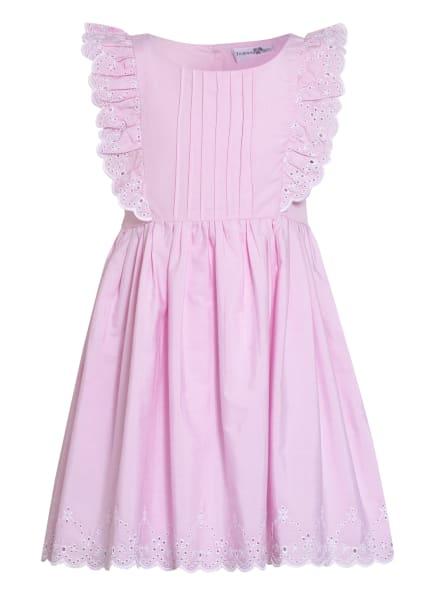 happy girls Kleid mit Rüschenbesatz, Farbe: ROSÉ (Bild 1)
