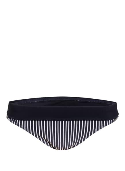 Marc O'Polo Bikini-Hose, Farbe: DUNKELBLAU/ WEISS (Bild 1)