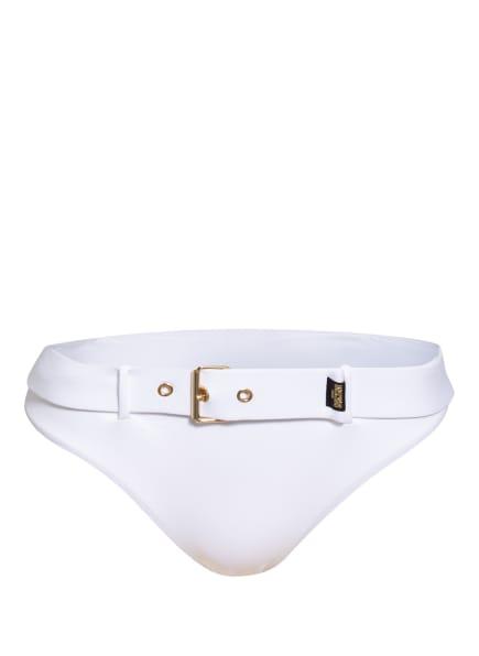 MOSCHINO Bikini-Hose GOLDEN BUCKLE, Farbe: WEISS (Bild 1)