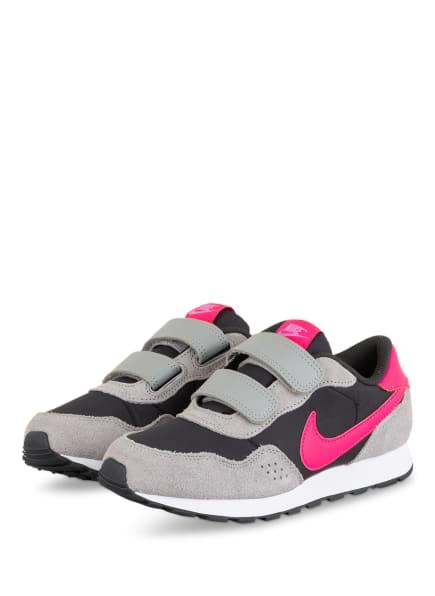 Nike Sneaker MD VALIANT, Farbe: HELLGRAU/ SCHWARZ/ NEONPINK (Bild 1)