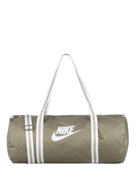 Nike Sporttasche HERITAGE, Farbe: OLIV/ WEISS (Bild 1)