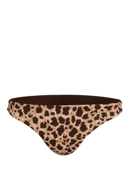 BANANA MOON Bikini-Hose WILA, Farbe: BEIGE/ DUNKELBRAUN/ HELLROSA (Bild 1)