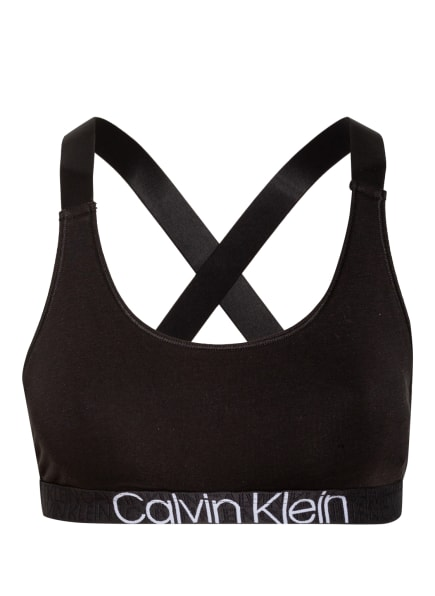 Calvin Klein Bustier CK RECONSIDERED, Farbe: SCHWARZ (Bild 1)