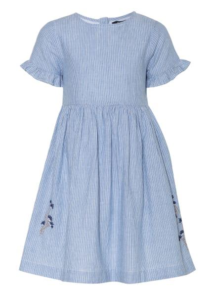 Marc O'Polo Kleid, Farbe: HELLBLAU/ WEISS (Bild 1)