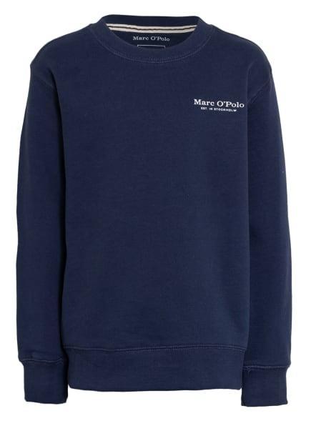 Marc O'Polo Sweatshirt, Farbe: DUNKELBLAU/ WEISS (Bild 1)