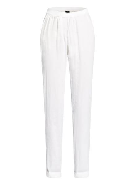 MARC CAIN Hose mit Leinen, Farbe: WEISS (Bild 1)
