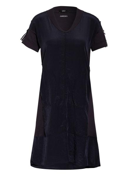 MARC CAIN Kleid im Materialmix, Farbe: DUNKELBLAU (Bild 1)