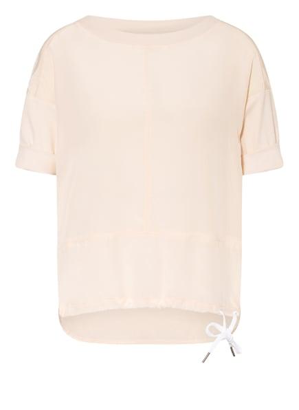MARC CAIN Blusenshirt im Materialmix , Farbe: 145 rose powder (Bild 1)