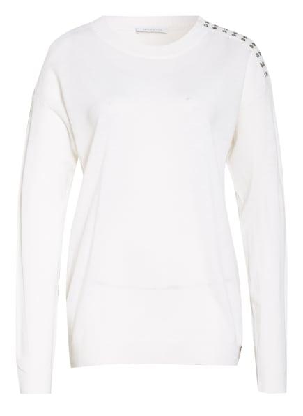 PATRIZIA PEPE Pullover, Farbe: ECRU (Bild 1)