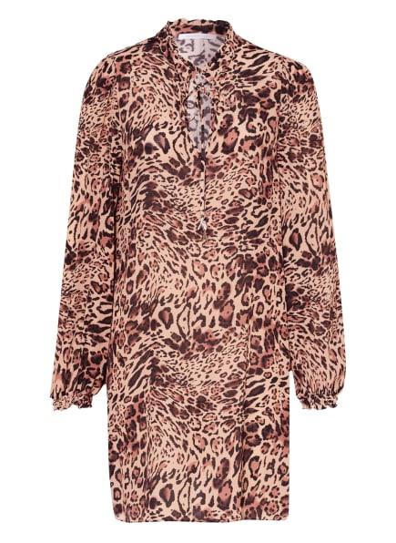 PATRIZIA PEPE Kleid , Farbe: BEIGE/ BRAUN/ SCHWARZ (Bild 1)