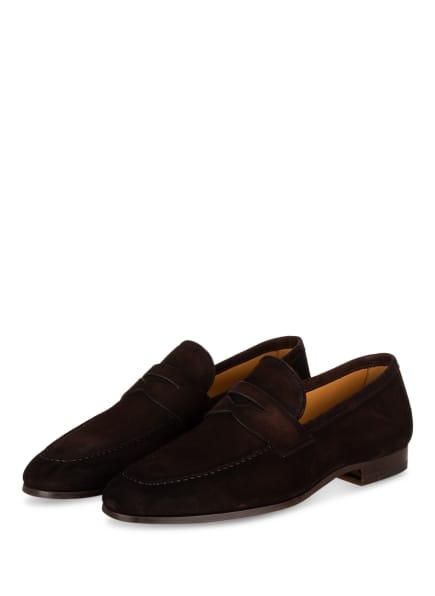 MAGNANNI Penny-Loafer , Farbe: DUNKELBRAUN (Bild 1)