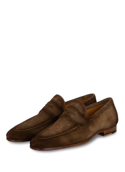 MAGNANNI Penny-Loafer, Farbe: DUNKELBRAUN (Bild 1)
