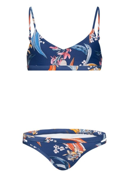SEAFOLLY Busiter-Bikini SALTY SUNSET, Farbe: BLAU/ ROSA/ DUNKELGELB (Bild 1)