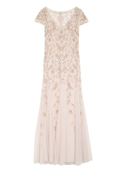 ADRIANNA PAPELL Abendkleid mit Perlen- und Paillettenbesatz, Farbe: ROSA (Bild 1)