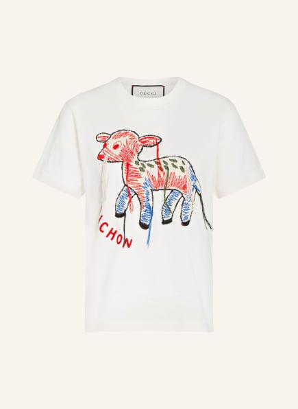GUCCI T-Shirt BICHON, Farbe: ECRU (Bild 1)