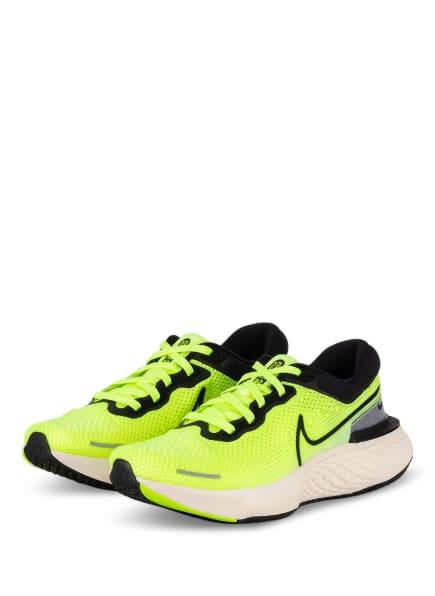 Nike Laufschuh ZOOMX INVINCIBLE RUN FLYKNIT, Farbe: NEONGELB/ SCHWARZ/ GRAU (Bild 1)