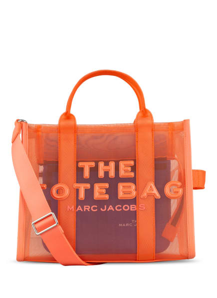 MARC JACOBS Shopper TRAVELLER TOTE SMALL, Farbe: ORANGE (Bild 1)