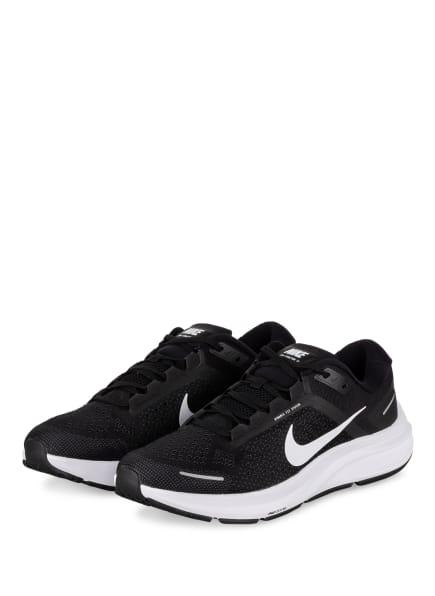 Nike Laufschuhe AIR ZOOM STRUCTURE 23, Farbe: SCHWARZ/ WEISS (Bild 1)