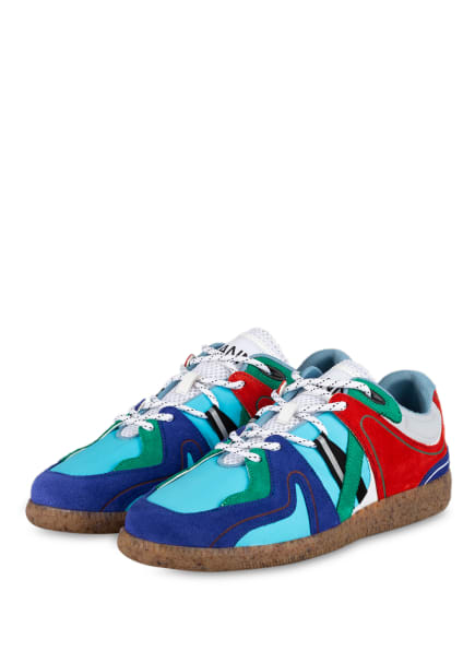 GANNI Sneaker SPORTY, Farbe: TÜRKIS/ BLAU/ GRÜN (Bild 1)