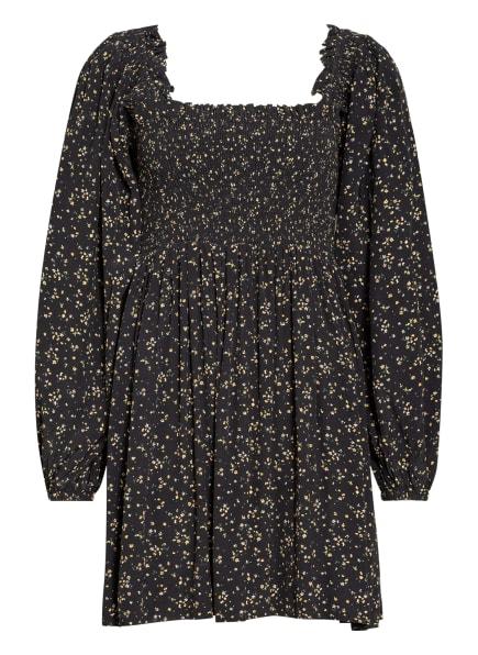 GANNI Kleid , Farbe: SCHWARZ/ GELB (Bild 1)