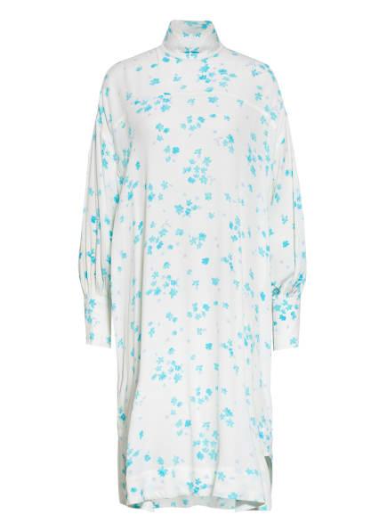 GANNI Oversized-Kleid, Farbe: WEISS/ HELLBLAU (Bild 1)