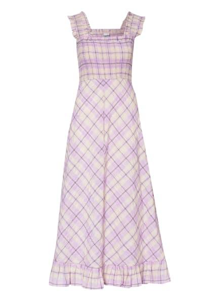 GANNI Kleid , Farbe: HELLLILA/ HELLGELB (Bild 1)