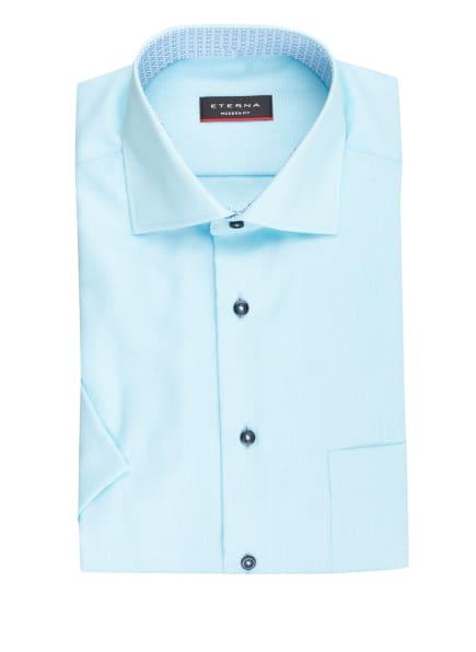 ETERNA Kurzarm-Hemd Modern Fit, Farbe: TÜRKIS (Bild 1)