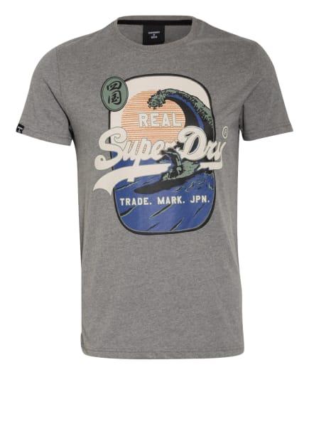 Superdry T-Shirt, Farbe: GRAU (Bild 1)
