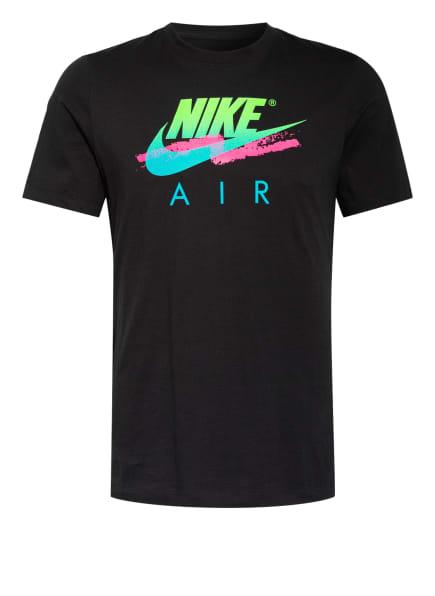 Nike T-Shirt SPORTSWEAR DNA FUTURA AIR, Farbe: SCHWARZ (Bild 1)