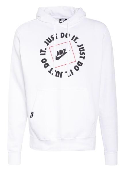 Nike Hoodie SPORTSWEAR JUST DO IT, Farbe: WEISS (Bild 1)