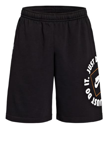 Nike Sweatshorts SPORTSWEAR JUST DO IT, Farbe: SCHWARZ (Bild 1)