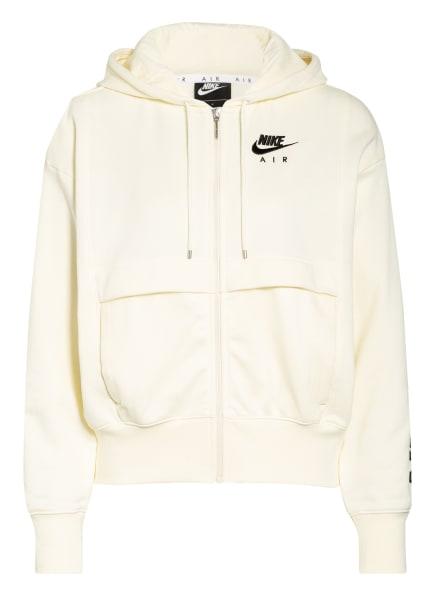 Nike Sweatjacke AIR mit Mesh-Besatz, Farbe: HELLGELB (Bild 1)
