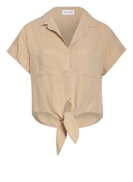 bella dahl Cropped-Hemdbluse , Farbe: HELLBRAUN (Bild 1)