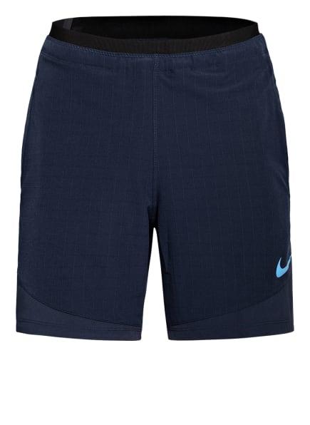 Nike Trainingsshorts PRO REP mit Mesh-Einsatz, Farbe: BLAU (Bild 1)