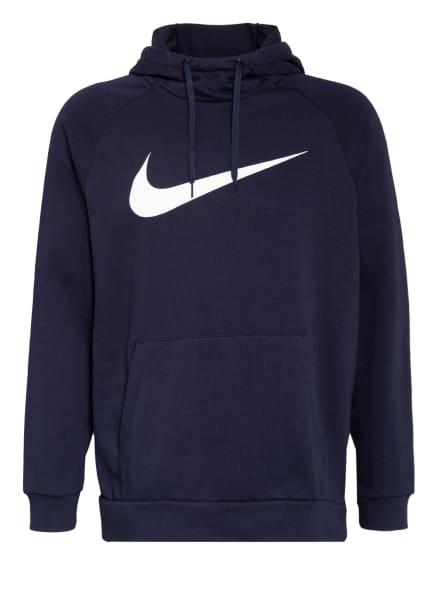 Nike Hoodie DRI-FIT, Farbe: DUNKELBLAU (Bild 1)