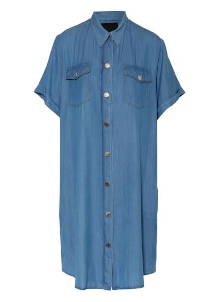 PINKO Hemdblusenkleid CHIPO in Jeansoptik, Farbe: HELLBLAU (Bild 1)