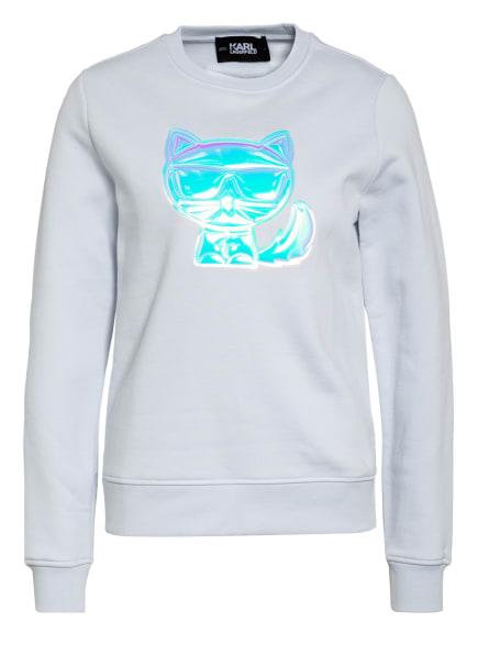 KARL LAGERFELD Sweatshirt IKONIK, Farbe: HELLBLAU (Bild 1)