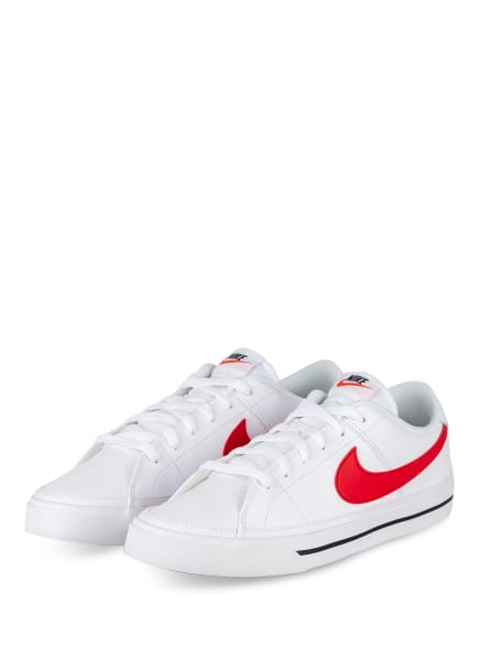 Nike Sneaker COURT LEGACY, Farbe: WEISS/ ROT (Bild 1)