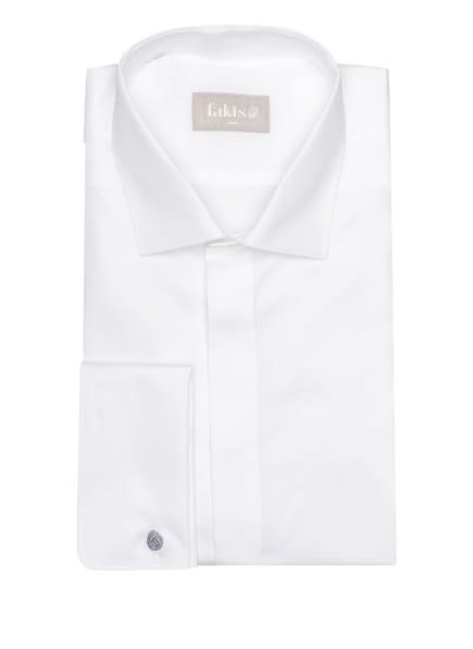 fakts Hemd RALO Slim Fit mit Umschlagmanschette , Farbe: WEISS (Bild 1)