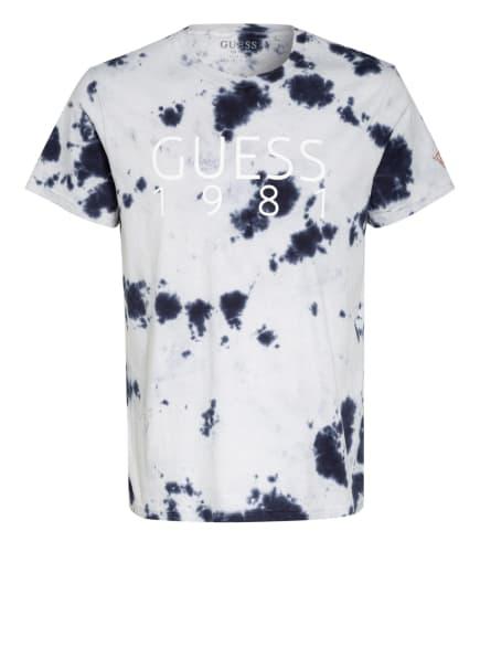 GUESS T-Shirt, Farbe: HELLBLAU/ DUNKELBLAU (Bild 1)
