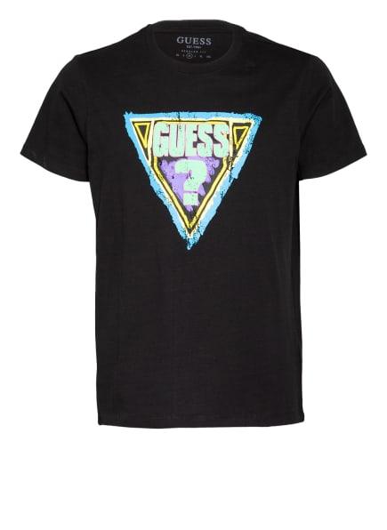 GUESS T-Shirt , Farbe: SCHWARZ (Bild 1)