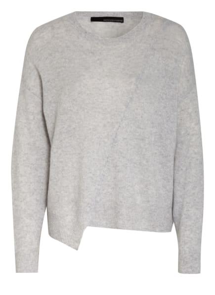 360CASHMERE Cashmere-Pullover EUGENA, Farbe: GRAU/ WEISS/ HELLGRAU (Bild 1)