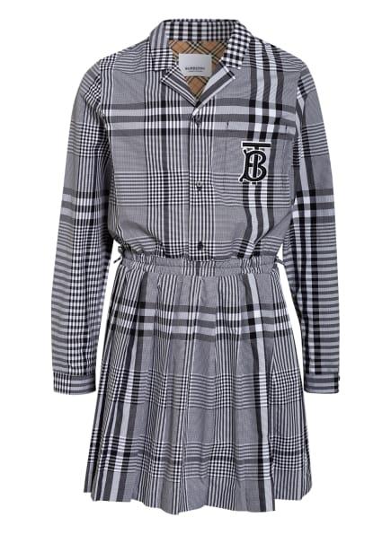 BURBERRY Kleid , Farbe: SCHWARZ/ WEISS (Bild 1)
