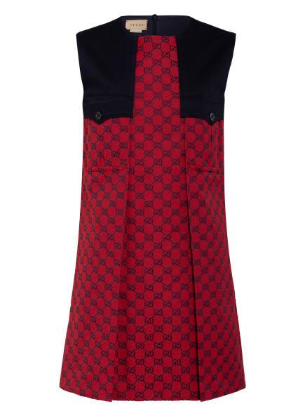 GUCCI Kleid, Farbe: BLAU/ ROT (Bild 1)