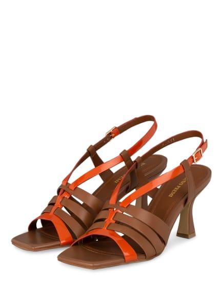 BRUNO PREMI Sandaletten, Farbe: BRAUN/ ORANGE (Bild 1)