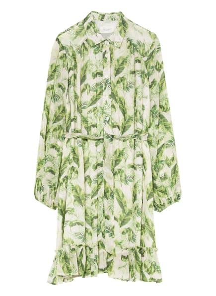 Jadicted Hemdblusenkleid mit abnehmbarer Schluppe, Farbe: HELLGRÜN/ GRÜN (Bild 1)