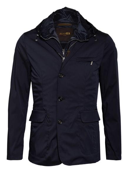 MOORER Jacke VESPUCCI mit abnehmbarer Blende, Farbe: DUNKELBLAU (Bild 1)